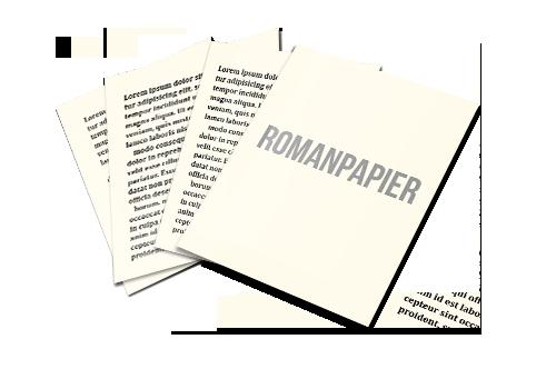 romanpapier