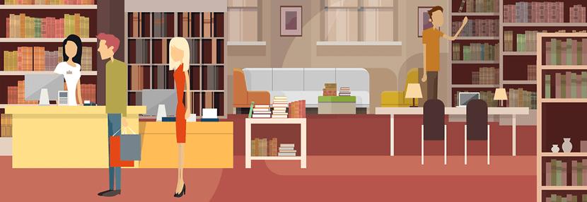 Bibliotheken verleiden