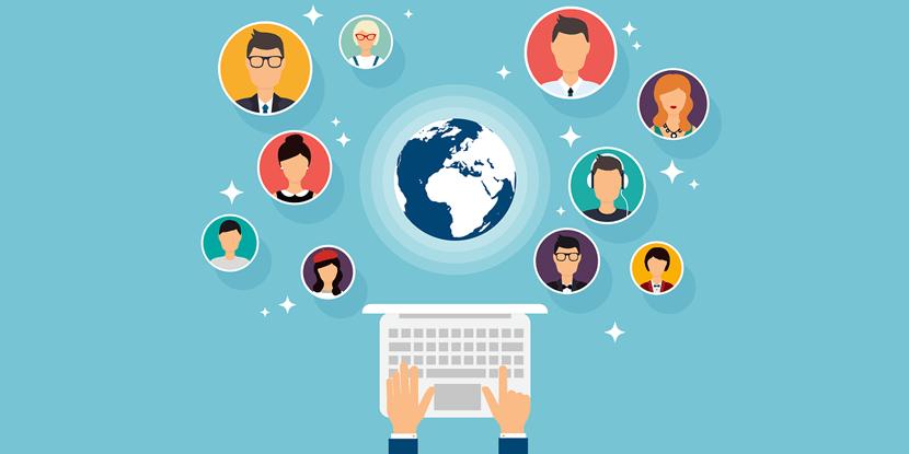 Een eigen website maakt het makkelijk om contact te onderhouden met je doelgroep
