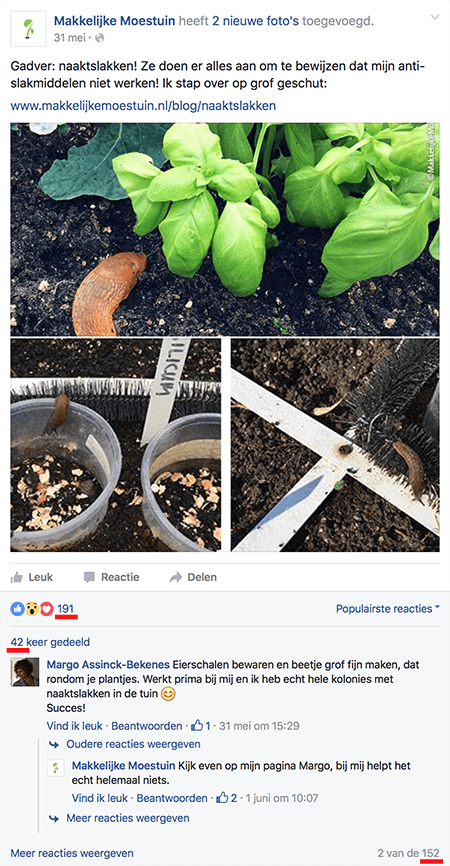 Facebook-bericht Jelle Medema