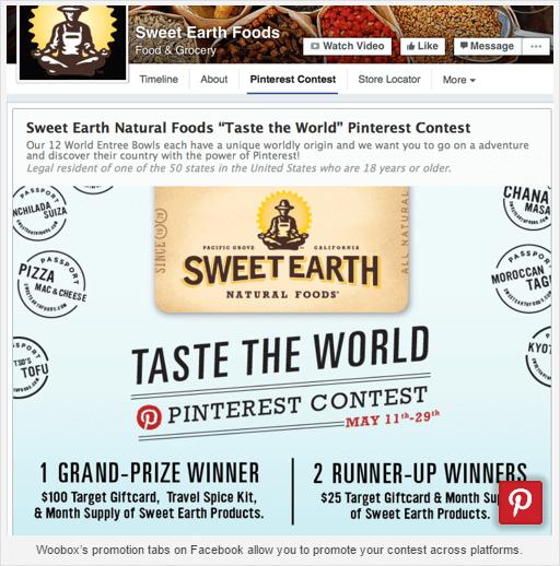 De Pinterest-knop op de website van SocialMedi Examiner