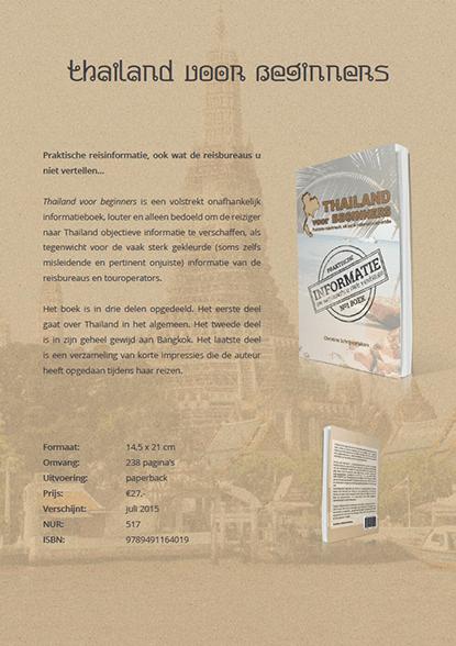 De pagina met informatie over het boek