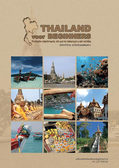 Het voorblad van de persmap van 'Thailand voor beginners'