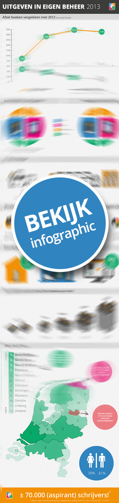 Infographic Eigen boek uitgeven 2013